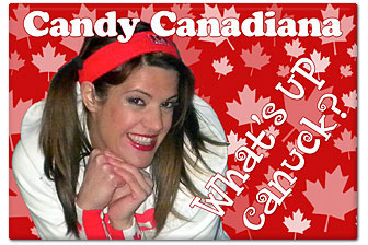 Candy Canadiana Magnet